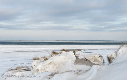 Amrumer Strand im Winter